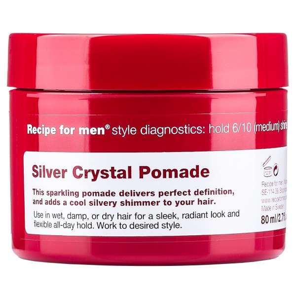 Silver Crystal Pomade