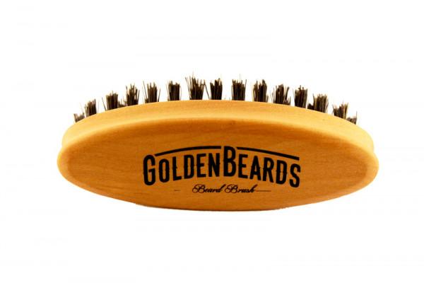 Golden Beards Beard Brush Travel