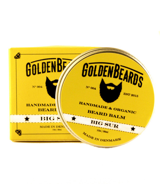 Golden Beards Beard Balm Big Sur