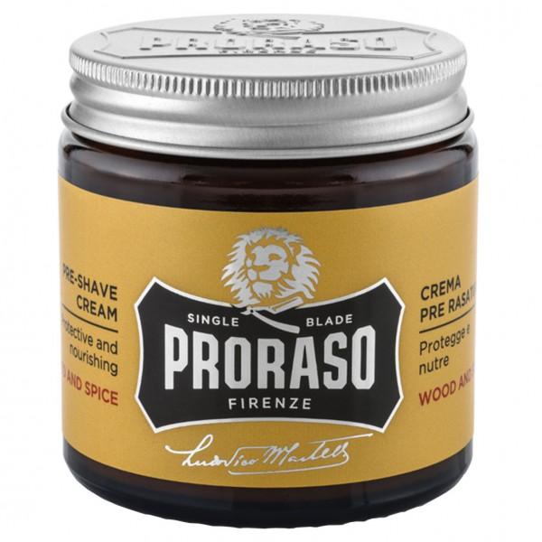 Preshave Cream Wood & Spice 100ml