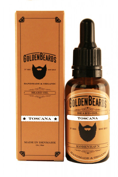 Golden Beards Beard Oil Toscana