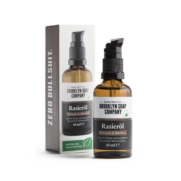 Rasieröl Macht die Barthaare weicher Brooklyn Soap Company