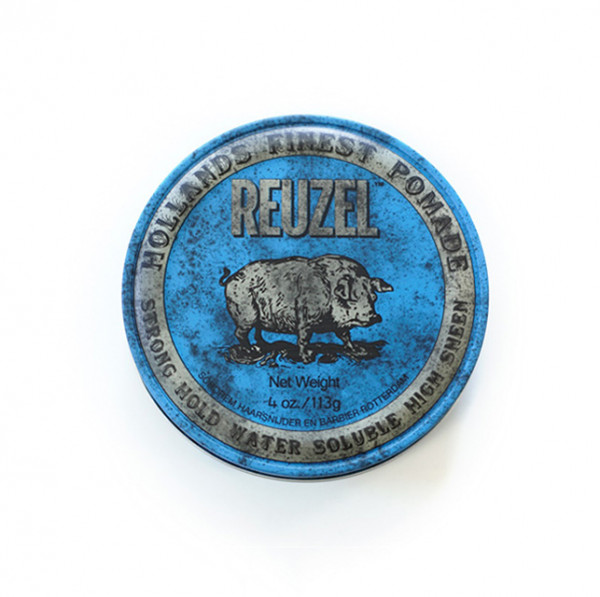 Strong Hold High Sheen Pomade Blue Small