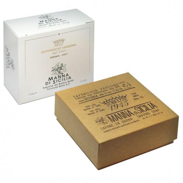 Manna di Sicilia Shaving Soap - Nachfüllpackung