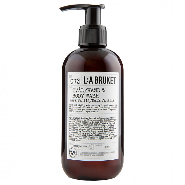 No. 073 Liquid Soap Dark Vanilla 250ml