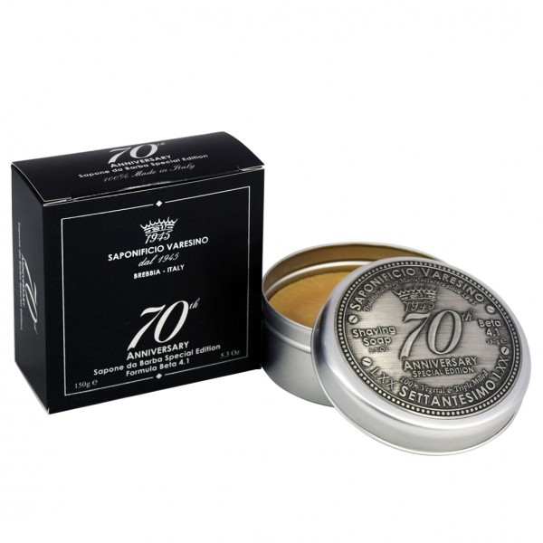 70th Anniversary Sapone Special Edition Shaving Soap