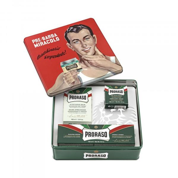 Vintage Selection Gino X3 verde Proraso