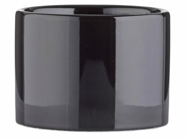 Seifenbecher schwarzes Porzellan
