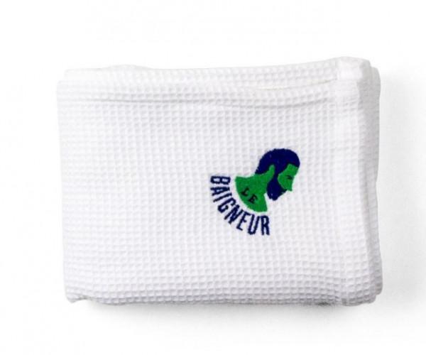 le baigneur, bath linen, towel