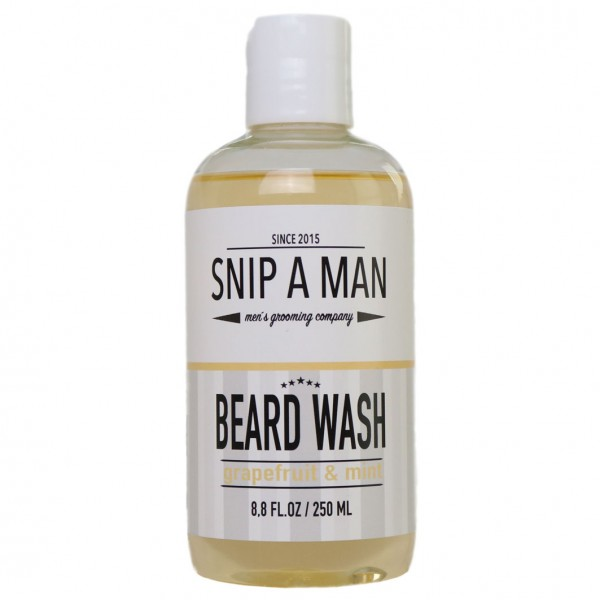 Beard Wash grapefruit & mint