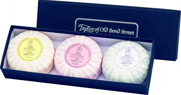 Taylor of Old Bond Street Mixed Gift Soap Box