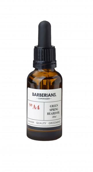 Beard Oil Green Spring Bartöl Pflege