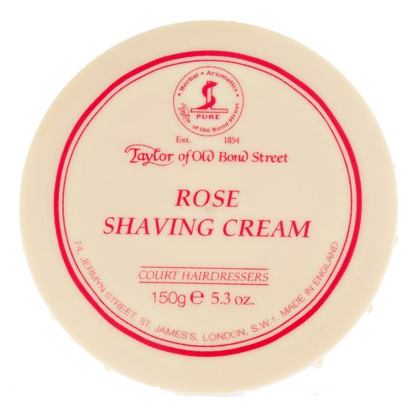 Rose Shaving Cream