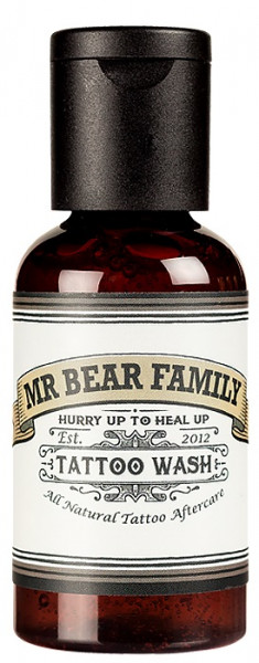 Mr. Bear Family Tattoo Wash