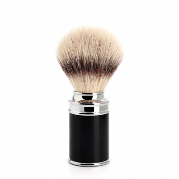 TRADITIONAL Rasierpinsel Silvertip Fibre® black