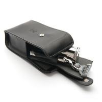 Mühle TRAVEL Edles Reiserasierset von MÜHLE, Silvertip Fibre®, mit Gillette® Mach3®, Griffe verchrom