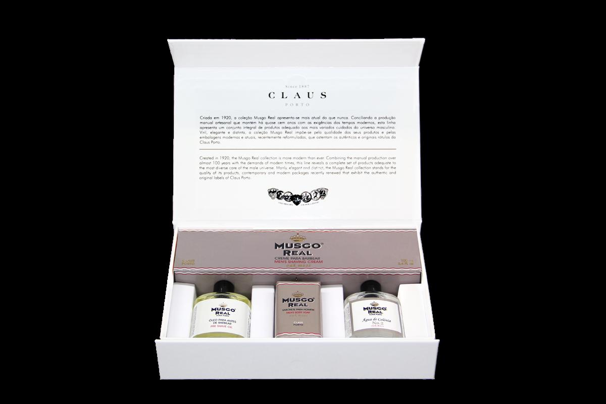Musgo Real ´´White Gift Box Oak Moss´´ Geschenkset