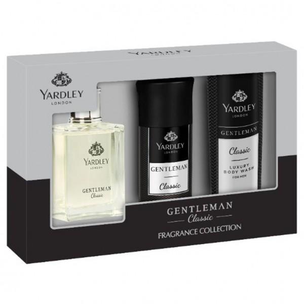Yardley London Gentleman Classic Set: 50ml EdP, 150ml Deo, 150ml Duschgel
