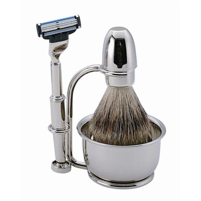 Becker Manicure Shaving Shop Rasiersets Rasier-Set Gillette Mach3, 4-teilig 1 Stk.