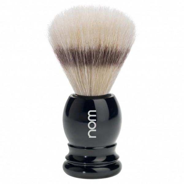 Rasierpinsel reine Borste Kunststoff schwarz