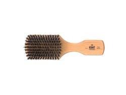 Club Haarbürste aus Buchenholz
