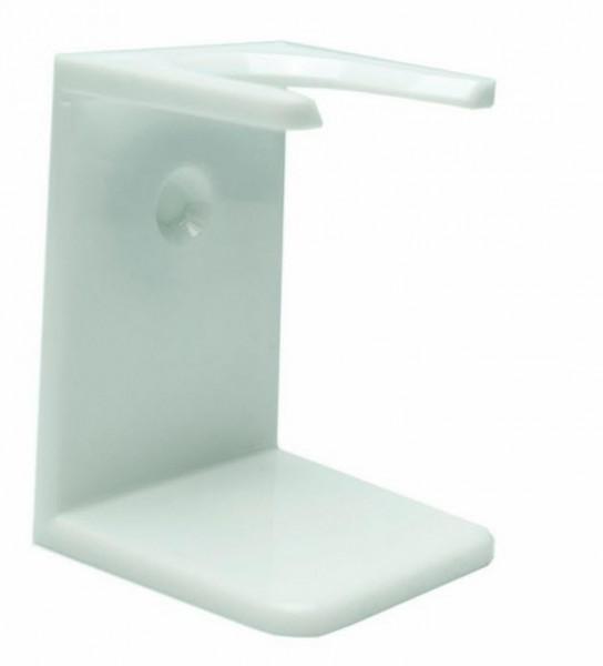 Rasierpinselhalter Kunststoff Weiss/ Klein