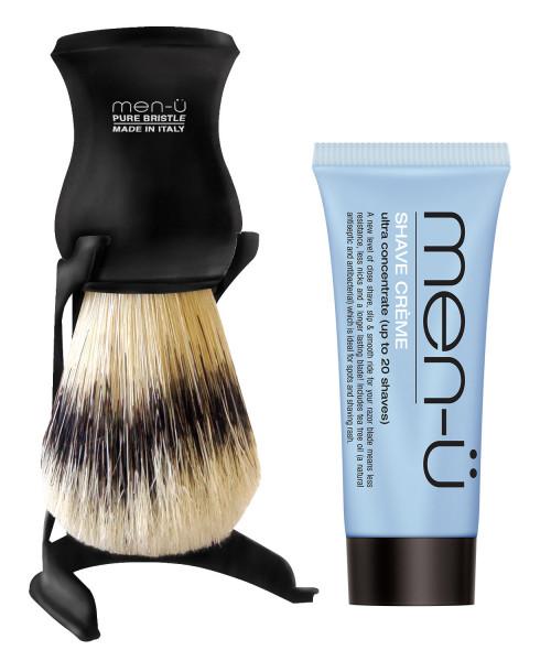 Barbiere pure Bristle shaving Brush men-u, weiss, schwarz, grau