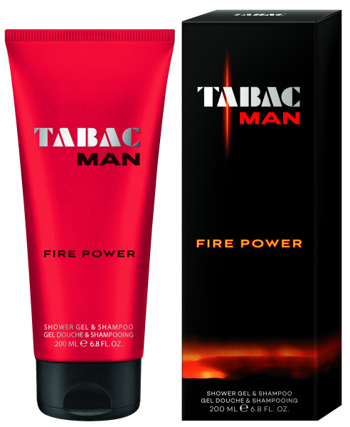 Tabac Man Tabac Man Fire Power Shower Gel & Shampoo 2 in 1 Schampoo