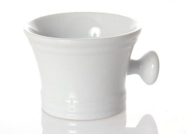 Erbe Seifenschale aus Keramik, weiß