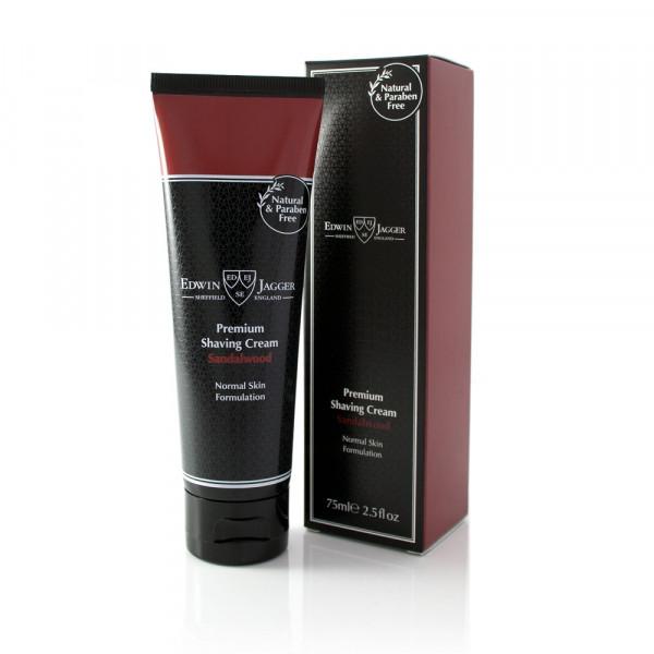 Premium Shaving Cream Tube Sandalwood