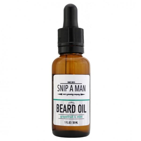 Beard Oil Grapefruit Mint