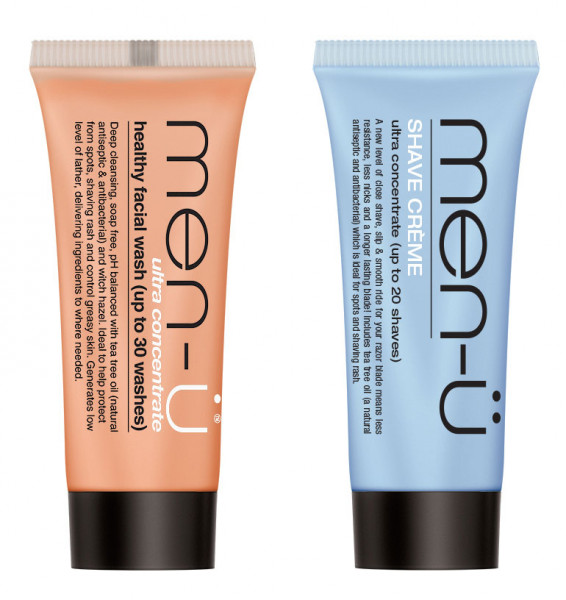 men-ü Shave & Cleanse Duo Travel Set